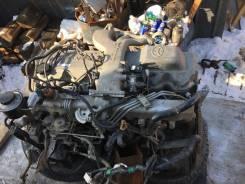 Двигатель в сборе. Toyota Coaster Toyota Land Cruiser Двигатель 1HDFT