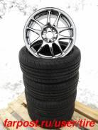 Шины диски Work Emotion CR-Kai, Michelin Pilot Preceda PP2. 7.0x15 4x100.00 ET44 ЦО 60,0мм.