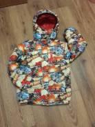 Куртки-дождевики. Рост: 116-122, 122-128, 128-134 см