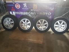 Литье Subaru R15 с зимней резиной Bridgestone Blizzak Revo. 6.0x15 5x100.00 ET55