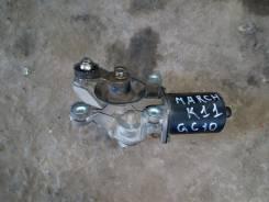 Мотор стеклоочистителя. Nissan March, K11 Двигатель CG10DE