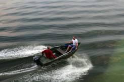 """""""Нельма"""" новая, моторная, пластиковая лодка до 25л. с. Год: 2017 год, длина 3,70м., двигатель подвесной, 1,53л.с., бензин. Под заказ"""