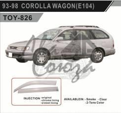 Ветровик. Toyota Corolla, AE100, AE100G, AE101, AE101G, AE102, AE103, AE104, AE104G, AE109, AE109V, CE100, CE100G, CE101, CE101G, CE102, CE102G, CE104...