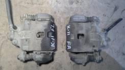 Суппорт тормозной. Nissan March, ANK11, HK11, FHK11, YZ11, WK11, K11, WAK11, AK11