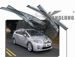 Ветровик на дверь. Toyota Prius, ZVW30, ZVW30L