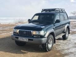 Toyota Land Cruiser. автомат, 4wd, 4.2 (170 л.с.), дизель, 240 тыс. км