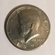 Монета полдоллара США. В наличии. Под заказ