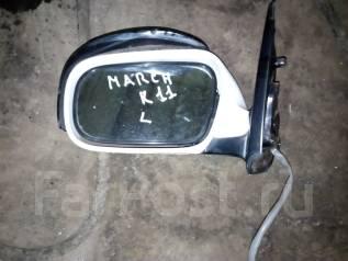 Зеркало заднего вида боковое. Nissan March, K11 Двигатель CG10DE