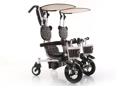 Детский велосипед для двойни трехколесный - Детский транспорт во GA93