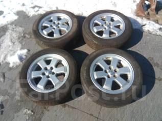 185/65R15 + литые диски 5х100 Toyota. 6.0x15 5x100.00 ET45 ЦО 54,1мм.