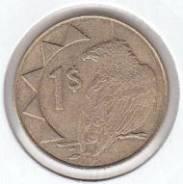 1 доллар Намибия