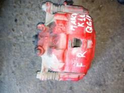 Суппорт тормозной. Nissan March, K11 Двигатель CG10DE