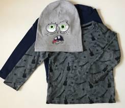 2 кофточки Zara Boy + шапочка в подарок ! 1,5-2,5 года!. Рост: 86-98 см