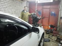 Двигатель в сборе. Toyota Caldina, ST215 Двигатель 3SGTE