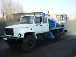 ГАЗ-33086 Земляк. Автогидроподъемник ВИПО-24-01 ГАЗ-33086 (4х4) кабина 5 мест, 24 м.