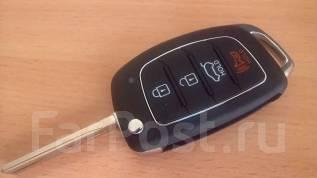 Ключ зажигания, смарт-ключ. Hyundai: ix35, Accent, i40, Tucson, i20, i30, Sonata, Santa Fe