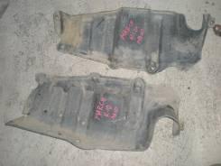 Защита двигателя. Nissan March, K10