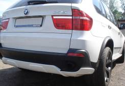 Накладка на бампер. BMW X5, E70