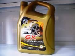 United Oil. Вязкость 5W-40, полусинтетическое