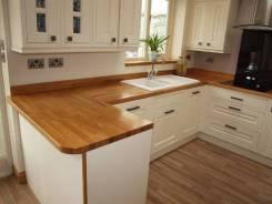 Изготовление деревянных столешниц для кухни и ванных комнат
