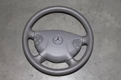 SRS в руль серая кожа Mercedes-Benz w211 E-class. Mercedes-Benz E-Class, W211