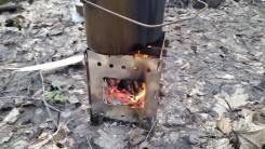 Печка - щепочница