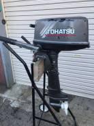 Tohatsu. 5,00л.с., 2х тактный, бензин, нога S (381 мм), Год: 2003 год