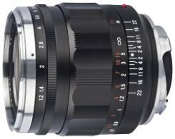 Voigtlander Nokton 35mm f1.2 Aspherical VM II (M Mount). диаметр фильтра 52 мм