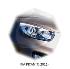 Накладка на фару. Kia Picanto