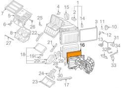Фильтр салона. Audi Q7, 4LB Volkswagen Amarok, 2HA, 2HB Volkswagen Touareg Volkswagen Multivan Porsche Cayenne Двигатели: CASA, CASC, CNRB