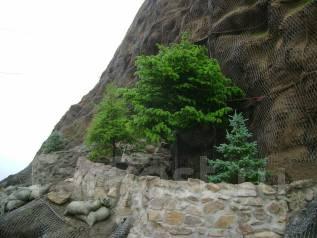 Благоустройство. Укрепление камнеопасных рельефов.
