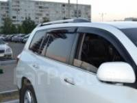 Ветровик на дверь. Toyota Highlander, ASU40, GSU40, GSU40L, GSU45, GVU48, MHU48 Toyota Kluger V, ACU20W, ACU25W, MCU20W, MCU25W, MHU28W Двигатели: 1AR...