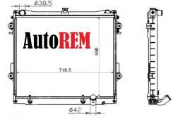 Радиатор охлаждения двигателя. Lexus LX570, URJ201 Toyota Land Cruiser, VDJ200, GRJ200, URJ200, UZJ100, URJ202, UZJ200 Двигатели: 3URFE, 1VDFTV, 1URFE...