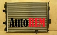 Радиатор охлаждения двигателя. Nissan Qashqai, J10E Nissan Dualis Двигатель MR20DE