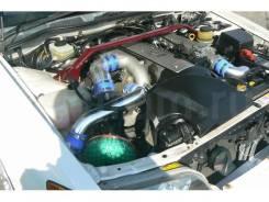 Двигатель в сборе. Toyota Chaser, JZX100 Двигатель 1JZGTE