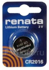Литиевый элемент питания (батарейка) Renata CR2016