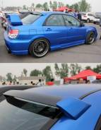 Спойлер на заднее стекло. Subaru Impreza WRX STI. Под заказ