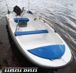 Wyatboat. длина 4,00м., двигатель подвесной, 15,00л.с.
