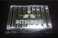 Накладки на коврик с гравировкой логотипа Mitsubishi