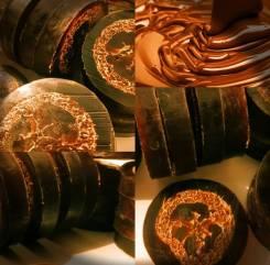 """Шоколадное мыло """"Richpresents"""" с люфой"""