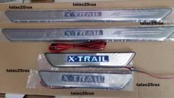 Порог пластиковый. Nissan X-Trail, TNT31, T31, T31R, NT31, DNT31