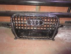 Решетка радиатора. Audi Q5, 8RB Двигатели: CALB, CCWA, CNBC, CDNC, CAHA, CGLB, CDNB