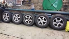 Продам комплект колес от Lexus RX 300 c зимней резиной. 6.5x16 5x114.30 ET35 ЦО 60,1мм.