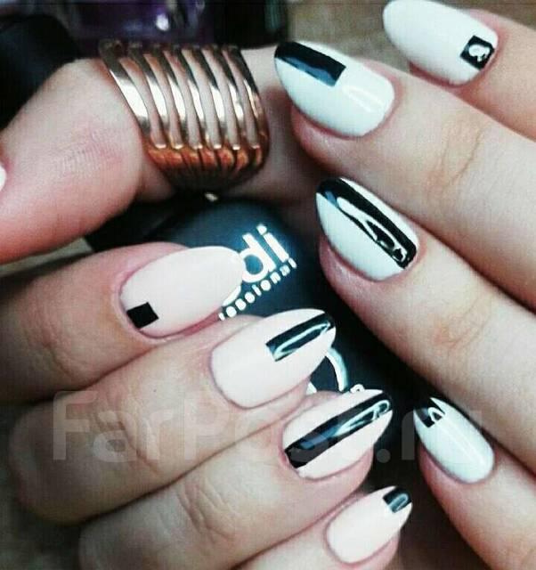 Наращивание ногтей. Дизайн ногтей, маникюр и педикюр, гель-лак, коррекция