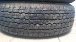 Bridgestone Dueler H/T D840. Летние, износ: 20%, 2 шт