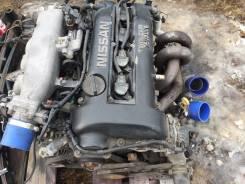 Двигатель в сборе. Nissan Silvia, S14 Двигатель SR20DET