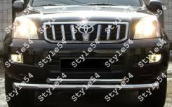 Защита бампера. Toyota Land Cruiser Prado. Под заказ