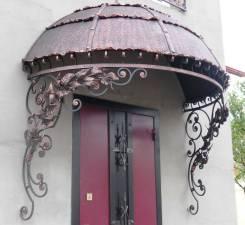 Кованные изделия и металлоконструкции: решетки, ворота, двери и прочее