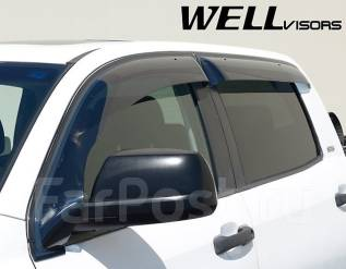 Ветровик на дверь. Toyota Sequoia Toyota Tundra, GSK50, GSK51, USK51, USK56 Двигатели: 1GRFE, 3URFE. Под заказ