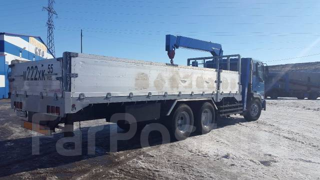 Hino FR. Продается грузовик с манипулятором , 17 000 куб. см., 10 000 кг.